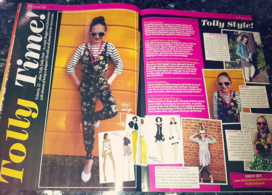 2013 the telegraph mizz magazine girl talk magazine fashion blogger teen fashion bloggers