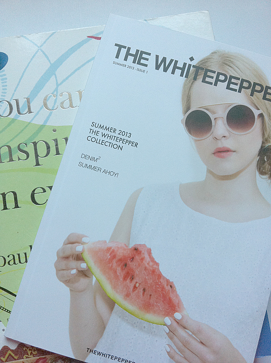the white pepper