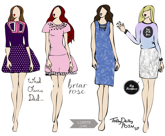 blogger inspired fashion design