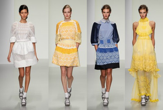 London Fashion Week Bora Asku SS14