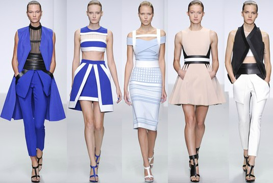 London Fashion Week David Koma SS14