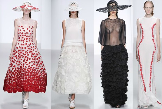 London Fashion Week John Rocha SS14
