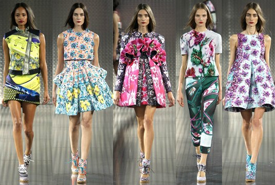 London Fashion Week Mary Katrantzou SS14