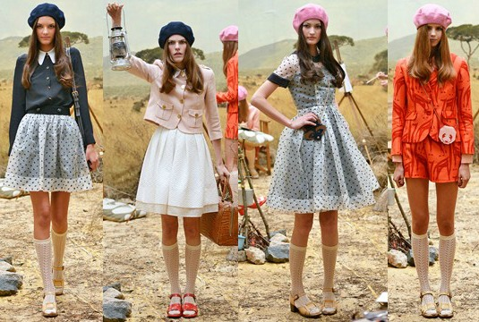 London Fashion Week Orla Kiely Red Label SS14