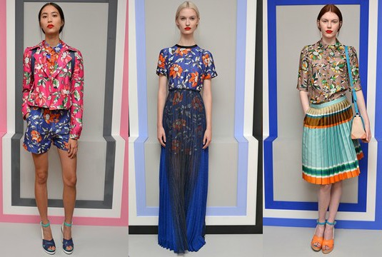 London Fashion Week Otswald Helgason SS14