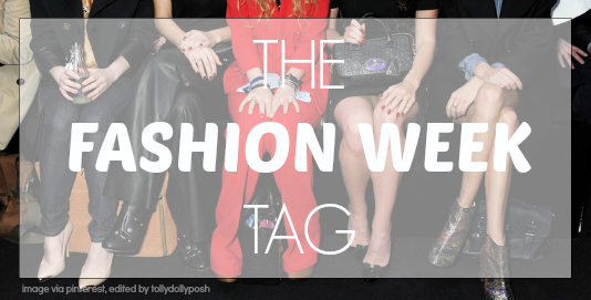 fashion week tag