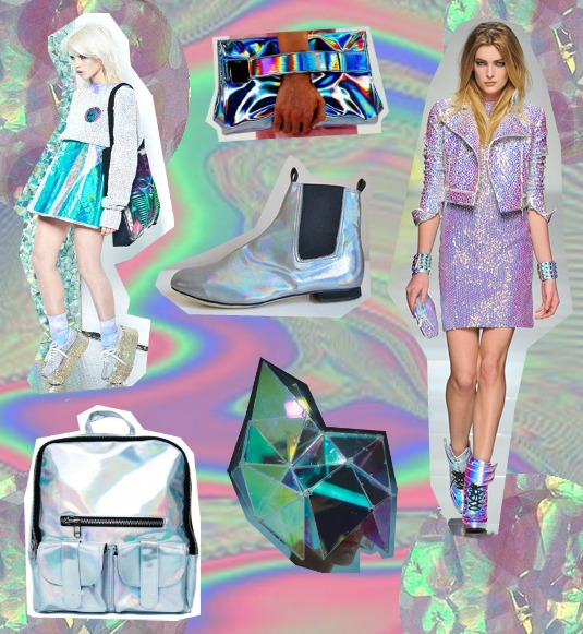 holographic fashion trend the white pepper asos tulle