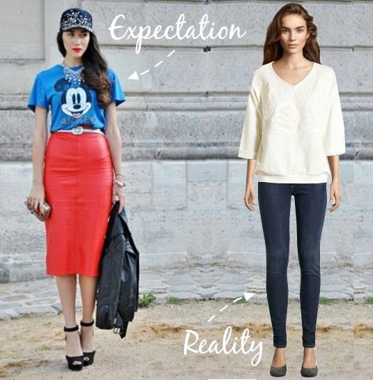 expect vs reality french fashion paris street style paris fashion lifestyle