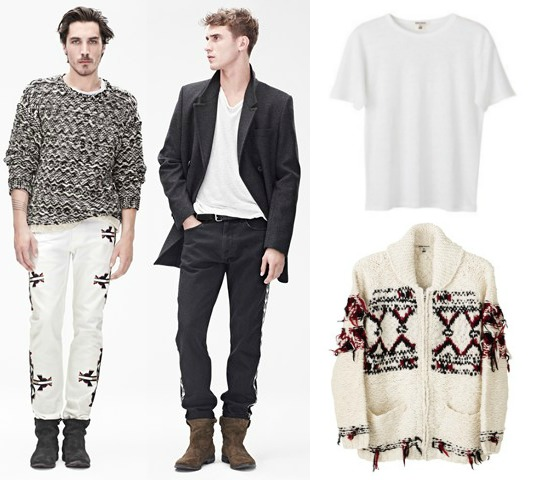 isabel marant for h&m collection review girls mens womens collection vogue
