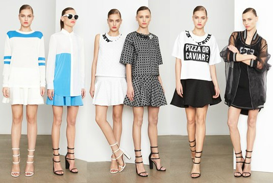 DKNY Pre-Fall Collection 2014
