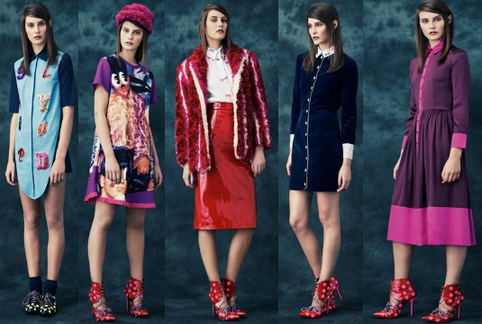 House of Holland Pre-Fall Collection 2014