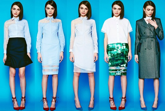 Misha Nonoo Pre-Fall Collection 2014