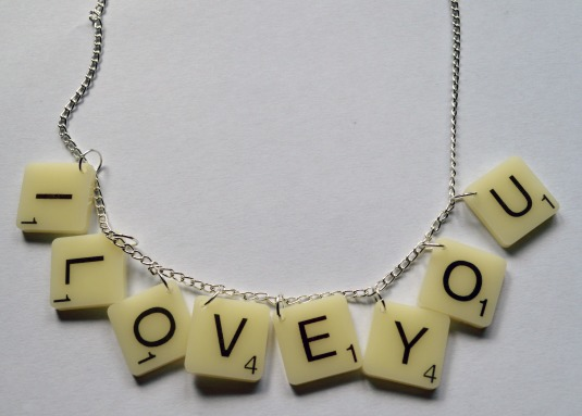 Punky Pins give-away necklace scrabble necklace i love you rafflecopter give-away