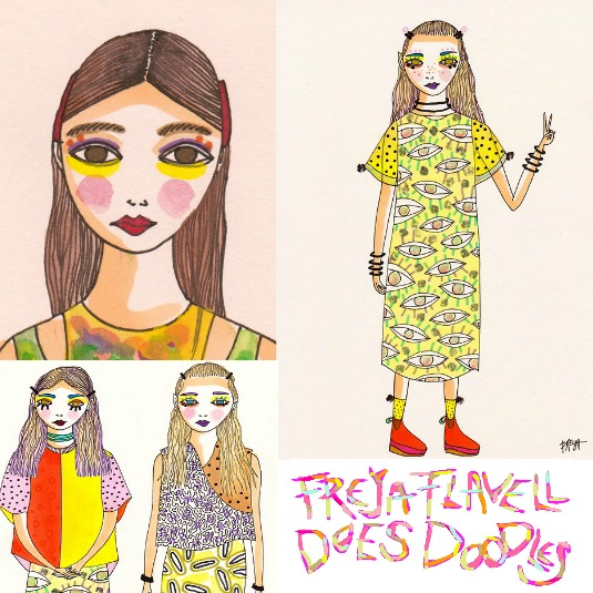 monthly obsessions tumblr carrie diaries outfits freya flavell doodles cryybaby etsy
