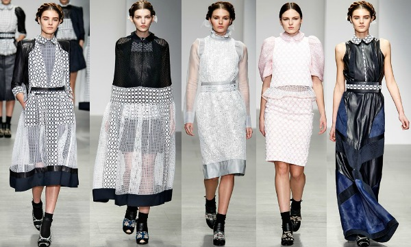 Bora Aksu AW14' London Fashion Week Review