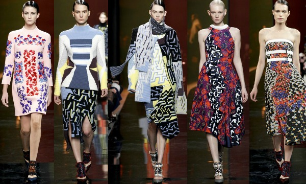 Peter Pilotto AW15' London Fashion Week Review