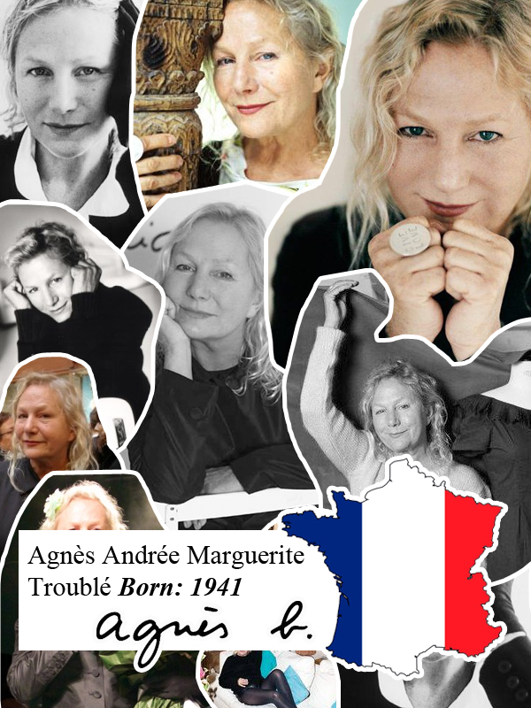 agnes b a-z fashion guide french fashion designers