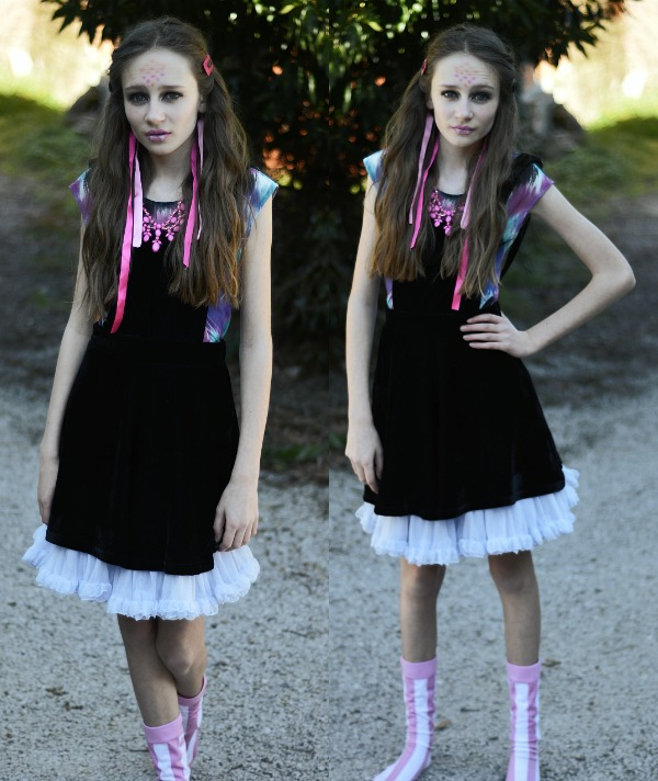 monster high get the look claire's accessories viperine