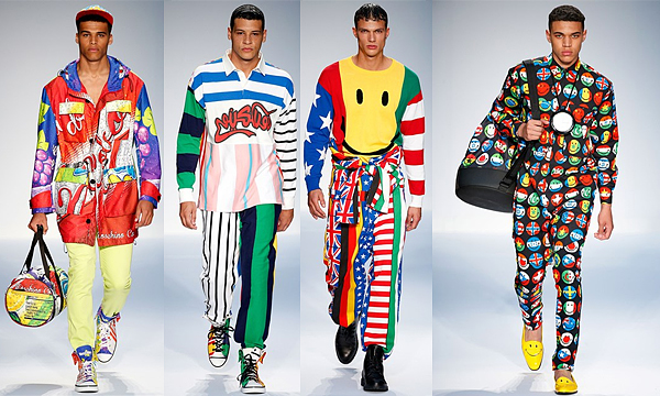 MOSCHINO London Collections: Men SS15 Review 1