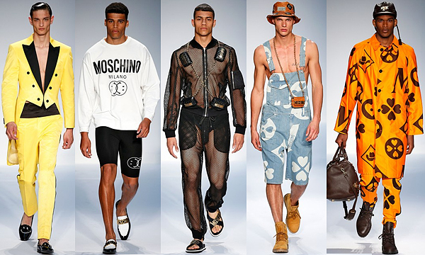 MOSCHINO London Collections: Men SS15 Review 2