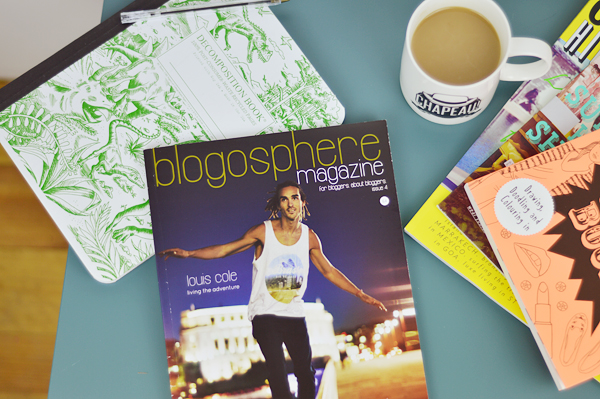 blogosphere magazine issue 4 louis cole teen blogging