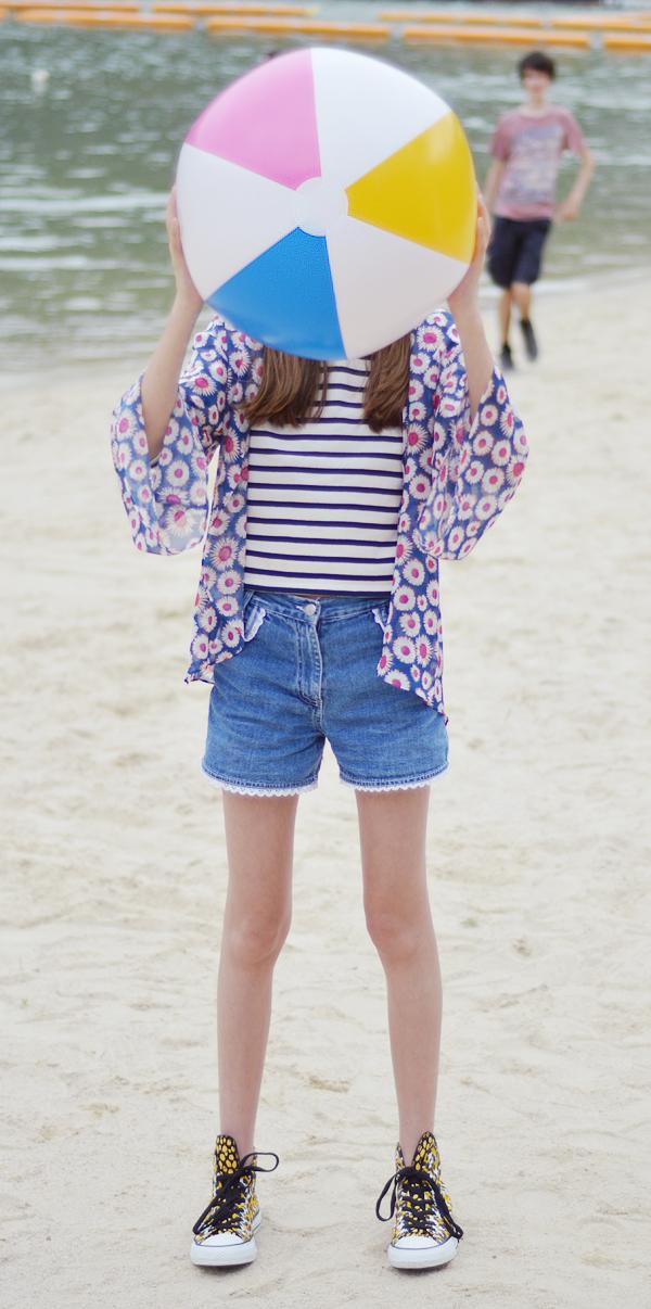 my style m&co footlocker asos kimono pom pom