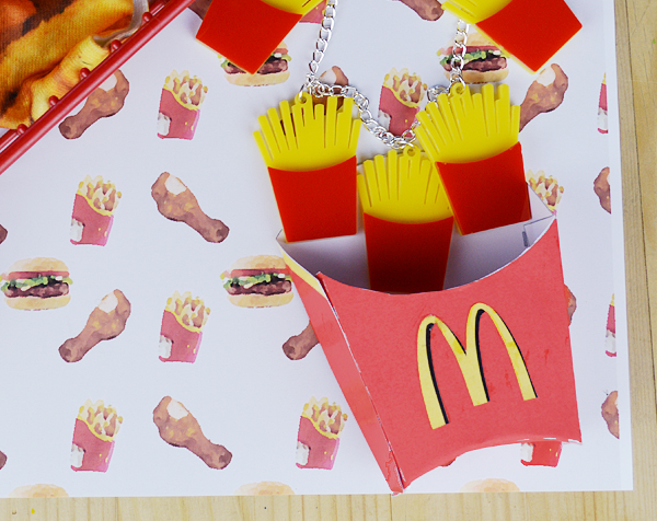 fast food fashion, food inspired fashion