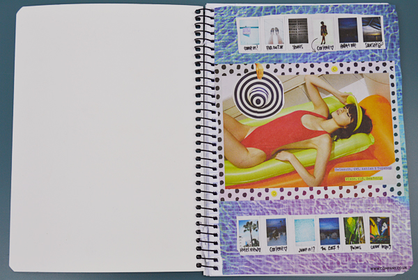 scrap social how to make a scrap book