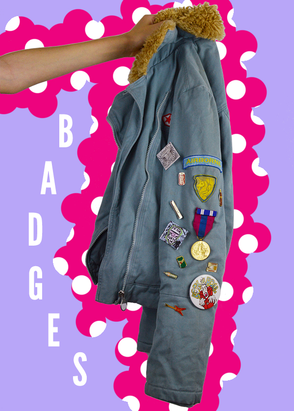 a/w 2014-2015 accessory trends badges
