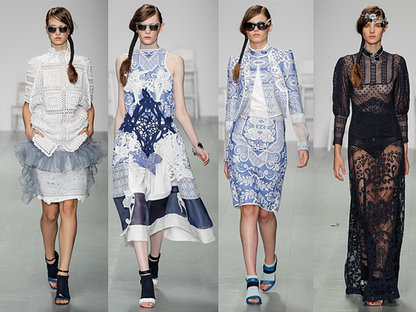Bora Aksu London Fashion Week SS15 Review
