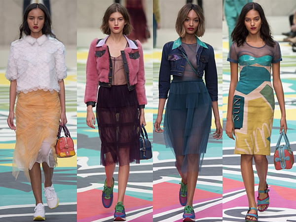 Burberry London Fashion Week SS15 Review