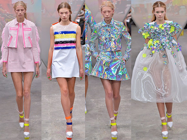 Fyodor Golan London Fashion Week SS15 Review