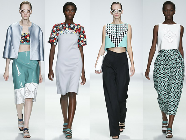Holly Fulton London Fashion Week SS15 Review