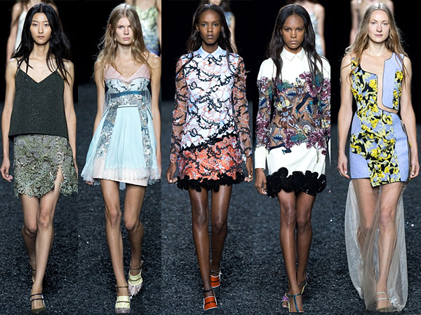 Mary Katrantzou London Fashion Week SS15 Review