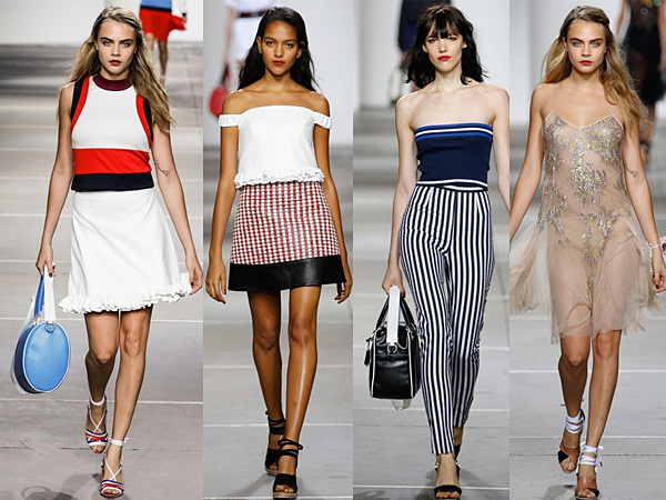Topshop Unique London Fashion Week SS15 Review