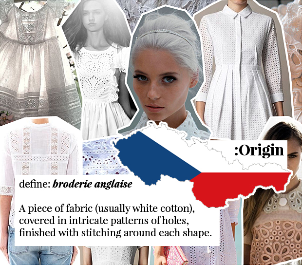 broderie anglaise a-z fashion guide