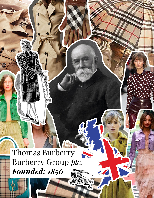 Thomas Burberry Burberry Group plc. A-Z Fashion Guide