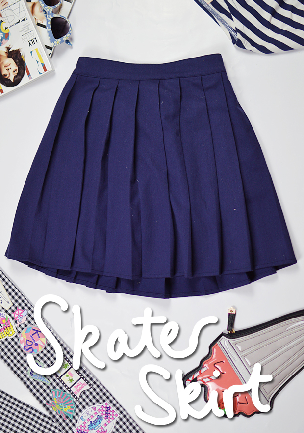 Changing With The Seasons Skater Skirt H&M