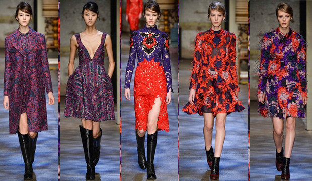 London Fashion Week AW 15 Erdem