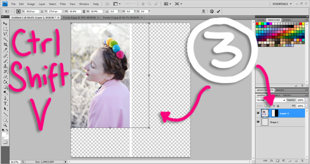 How To Make an Outfit Collage Template in Photoshop