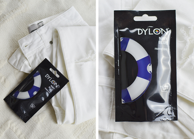 DIY Ripped Jeans - Dip Dye Tutorial - Dylon Dyes
