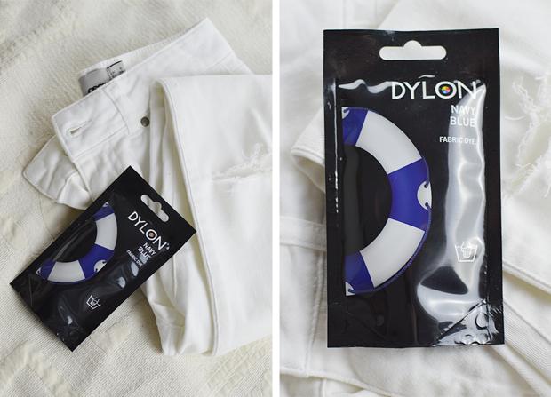 DIY Ripped Jeans - Dip Dye Tutorial - Dylon Dyes