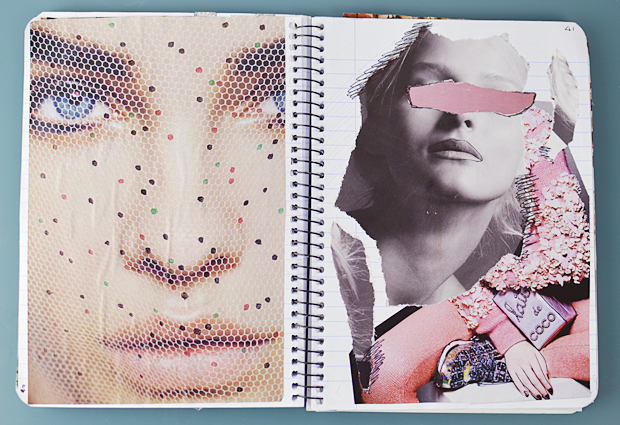 scrapbook ideas fashion journal how to make a scrapbook