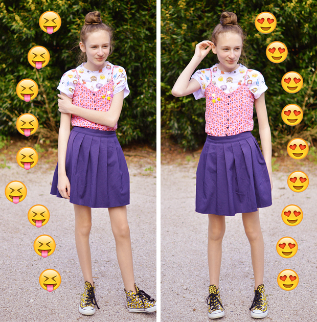 how to dress of spring ootd fashion blog emoji shop uk