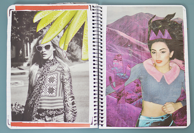 Scrapbook Pages - Fashion Scrapbook Inspiration