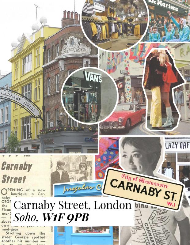 Carnaby Street - Best Shops in London - A-Z Fashion Guide