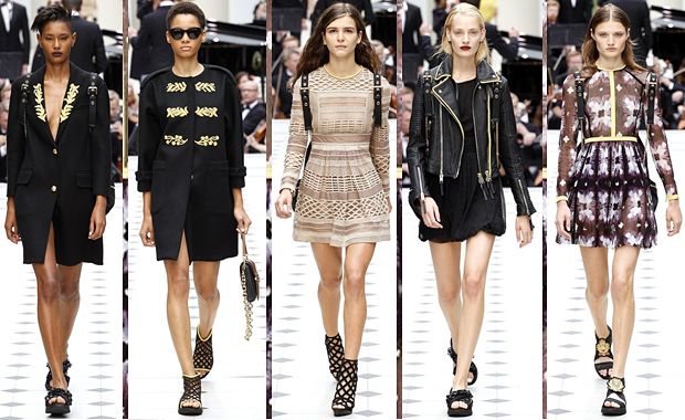 Burberry Prorsum London Fashion Week SS16 Review