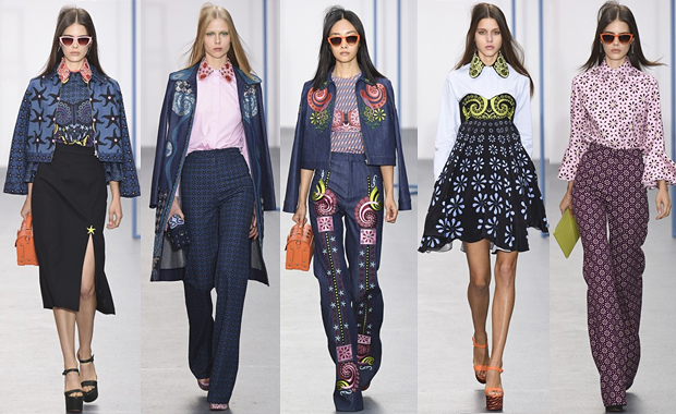 Holly Fulton London Fashion Week SS16 Review