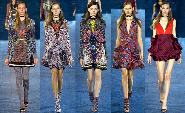 Mary Katrantzou London Fashion Week SS16 Review