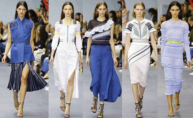 Peter Pilotto London Fashion Week SS16 Review